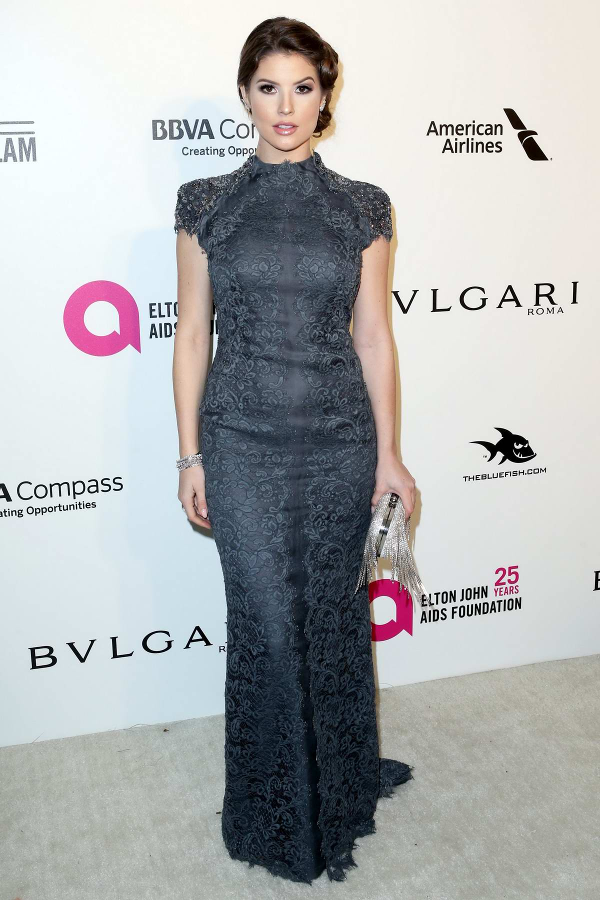 Amanda Cerny at the 26th Annual Elton John AIDS Foundation Academy Awards Viewing Party in Hollywood, Los Angeles