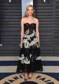 Amanda Seyfried attends 2018 Vanity Fair Oscar Party at the Wallis Annenberg Center for the Performing Arts in Beverly Hills, Los Angeles
