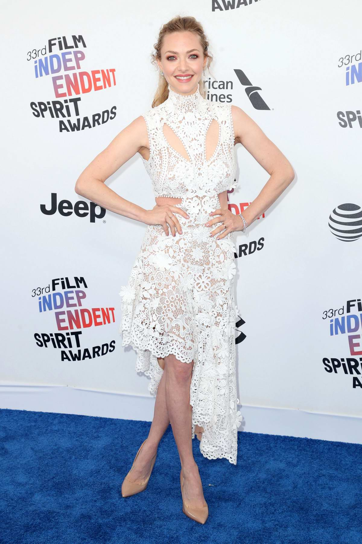 Amanda Seyfried attends the 33rd Film Independent Spirit Awards in Los Angeles