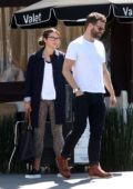 Amelia Warner and Jamie Dornan spotted leaving after lunch at Katsuya restaurant in Los Angeles