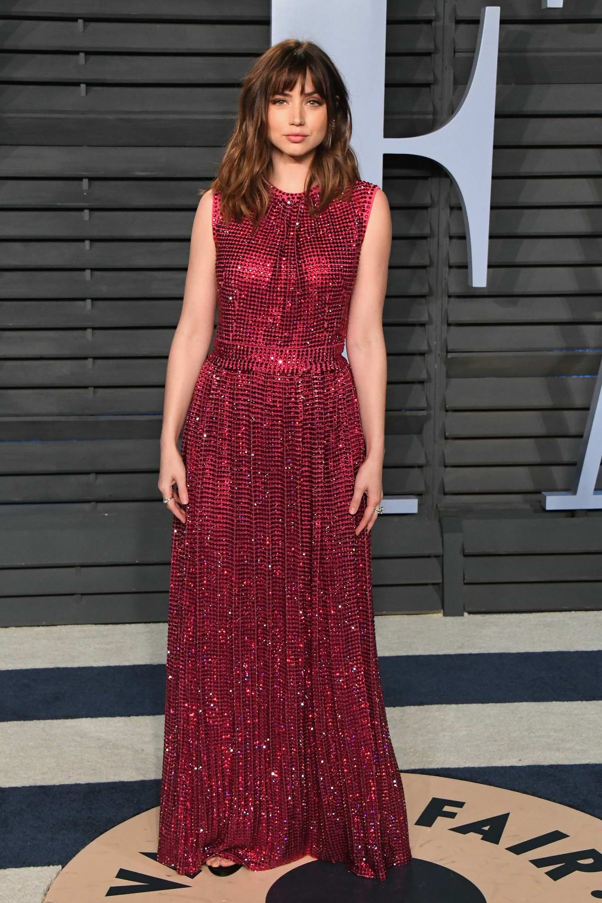 Ana de Armas attends 2018 Vanity Fair Oscar Party at the Wallis Annenberg Center for the Performing Arts in Beverly Hills, Los Angeles