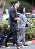 Ariel Winter leaves Pinz Bowling with boyfriend Levi Meaden in Studio City, Los Angeles
