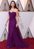 Ashley Judd attends The 90th Annual Academy Awards (Oscars 2018) held at Dolby Theatre in Hollywood, Los Angeles