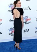Aubrey Plaza attends the 33rd Film Independent Spirit Awards in Los Angeles