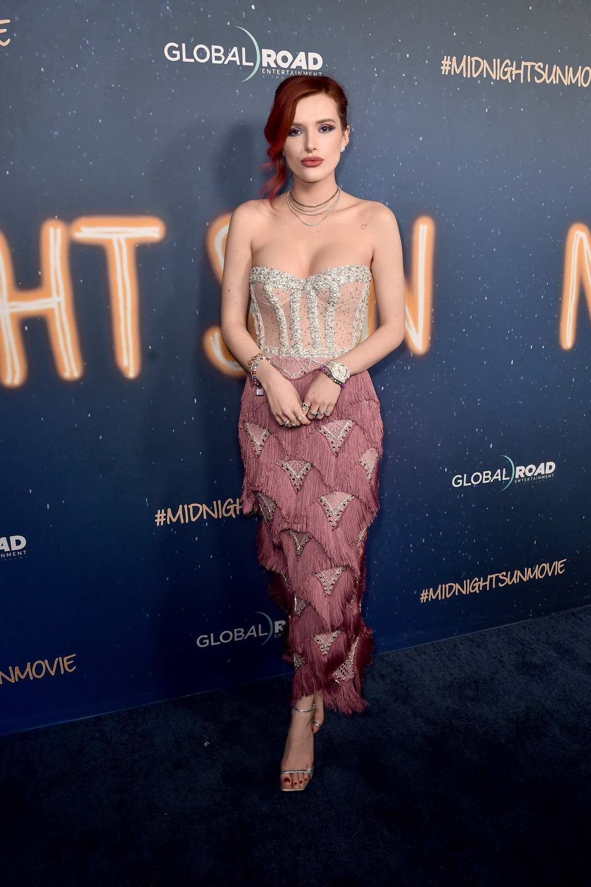 Bella Thorne attends the premiere of 'Midnight Sun' in Los Angeles