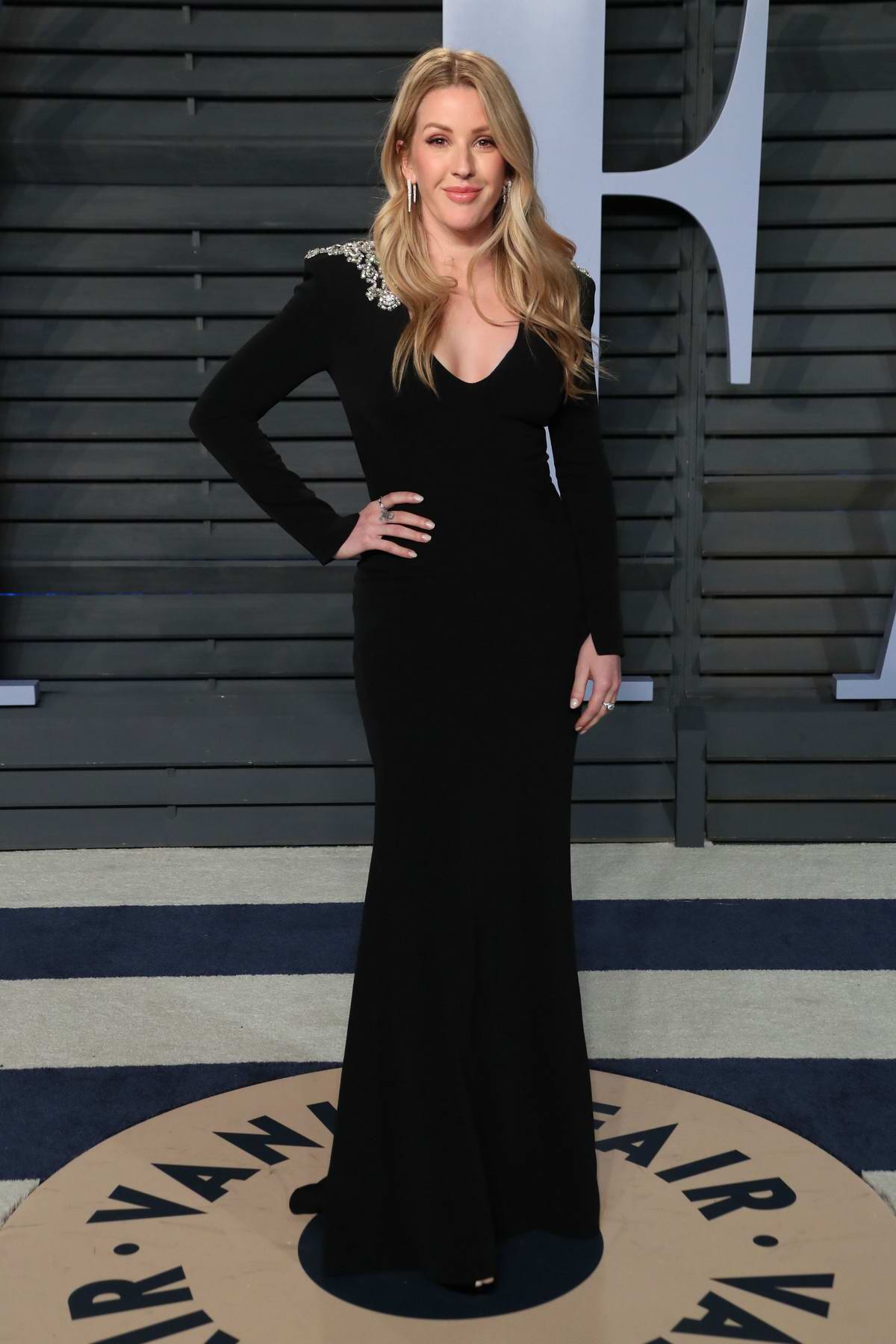 Ellie Goulding attends 2018 Vanity Fair Oscar Party at the Wallis Annenberg Center for the Performing Arts in Beverly Hills, Los Angeles