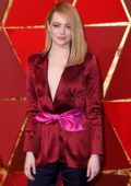 Emma Stone attends The 90th Annual Academy Awards (Oscars 2018) held at Dolby Theatre in Hollywood, Los Angeles