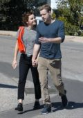 Emma Watson and Chord Overstreet spotted all smiles while holding hands on a romantic walk in Los Angeles