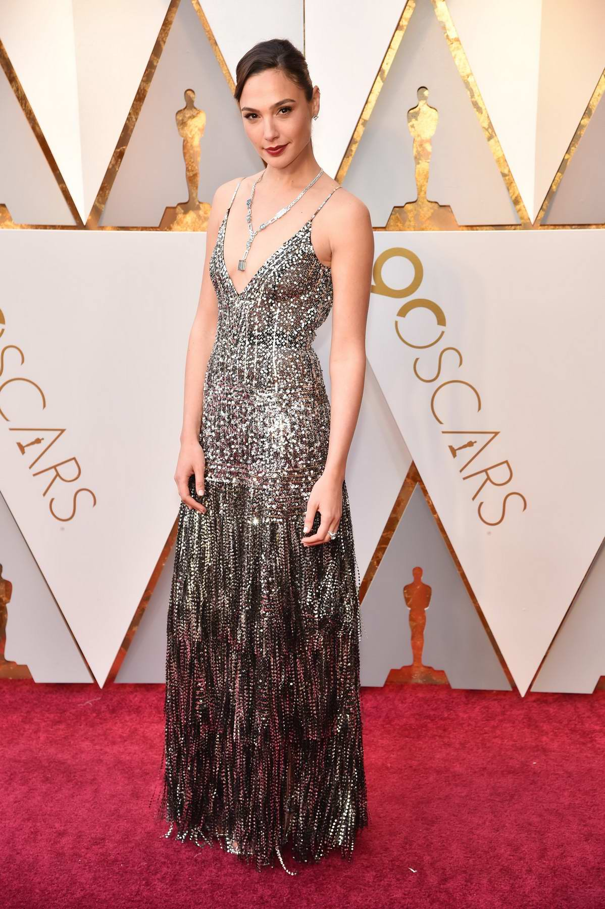 Gal Gadot attends The 90th Annual Academy Awards (Oscars 2018) held at Dolby Theatre in Hollywood, Los Angeles