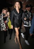 Hailey Clauson celebrates her birthday at Tao Steakhouse in Beverly Hills, Los Angeles
