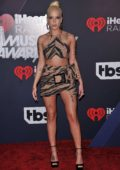 Halsey attends the 2018 iHeartRadio Music Awards at The Forum in Inglewood, California