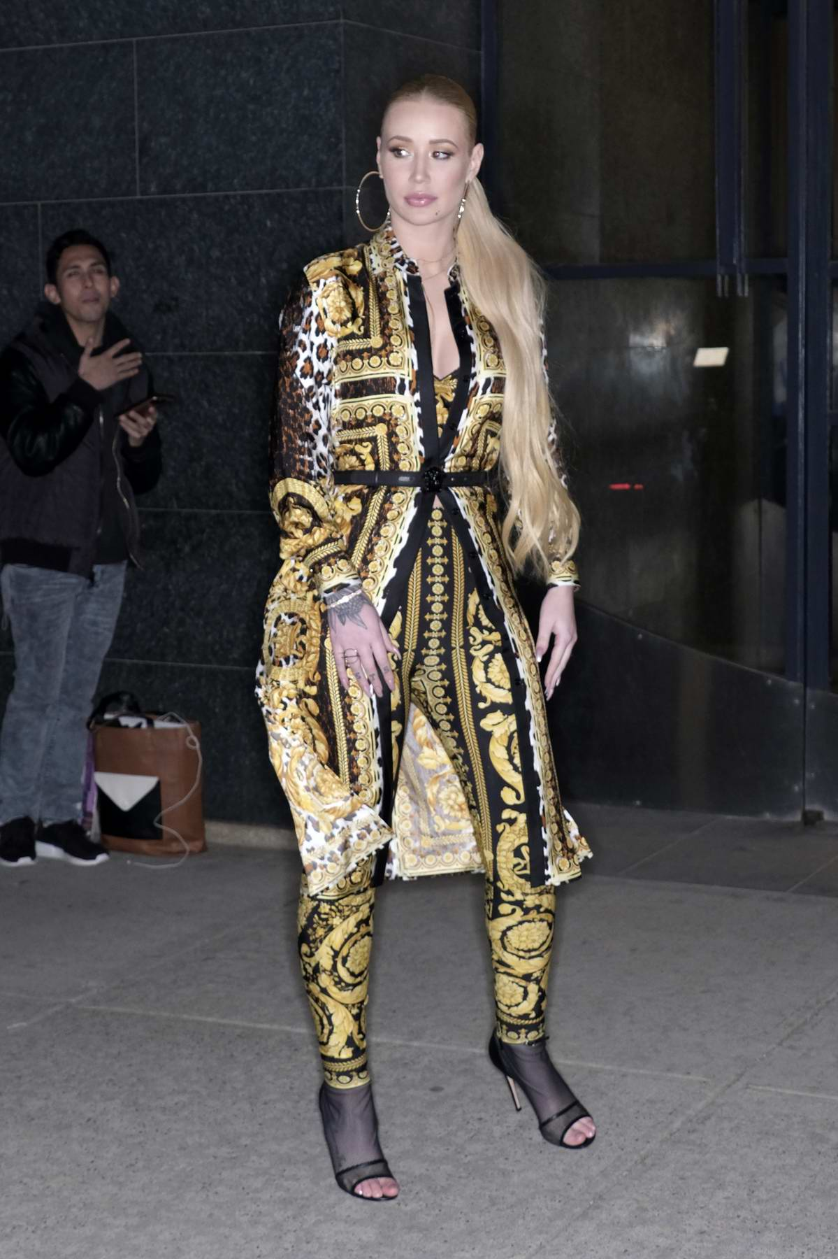 Iggy Azalea arrives at 'Watch What Happens Live' TV show in New York City
