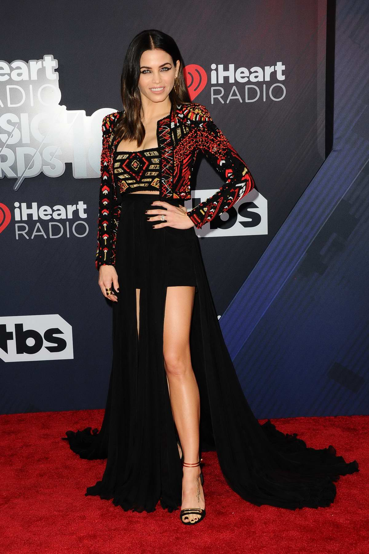 Jenna Dewan Tatum attends the 2018 iHeartRadio Music Awards at The Forum in Inglewood, California