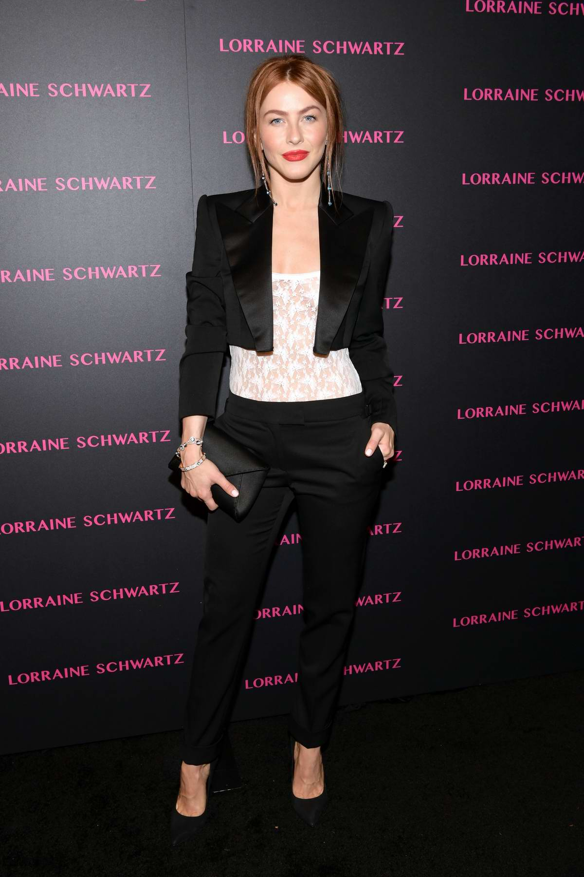 Julianne Hough attends Lorraine Schwartz Eye Bangles Collection launch at Delilah in West Hollywood, Los Angeles