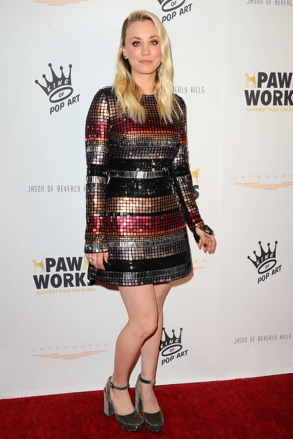 Kaley Cuoco attends James Paw 007 Ties & Tails Gala in Westlake Village, California