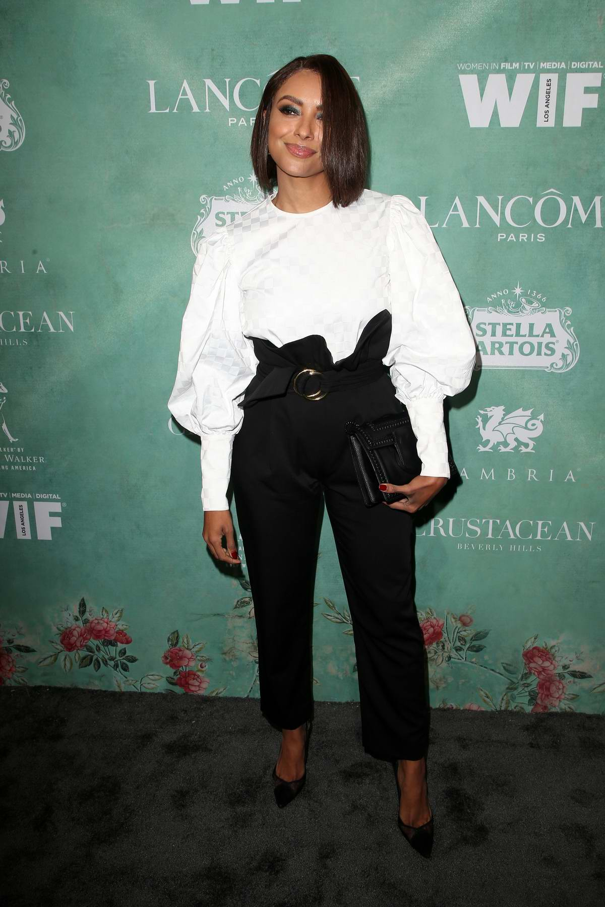 Kat Graham attends the 11th Annual Women In Film Pre-Oscar Cocktail Party at Crustacean in Beverly Hills, Los Angeles