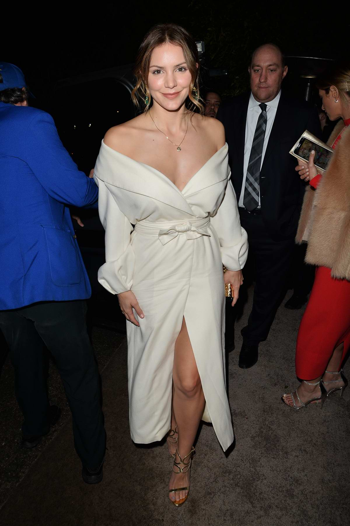 Katharine McPhee attending the WME Pre-Oscar Party in Los Angeles