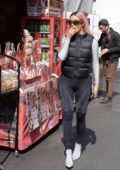 Kim Kardashian rocks skeleton print leggings while out and about in Tokyo, Japan