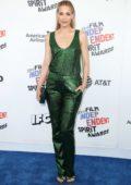 Leslie Bibb attends the 33rd Film Independent Spirit Awards in Los Angeles