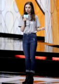 Lily Collins attends 'WE DAY' at Wembley Arena in London