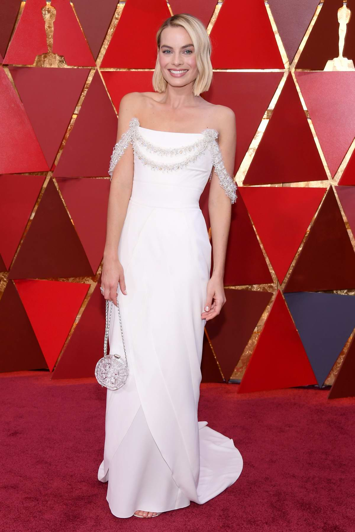 Margot Robbie attends The 90th Annual Academy Awards (Oscars 2018) held at Dolby Theatre in Hollywood, Los Angeles