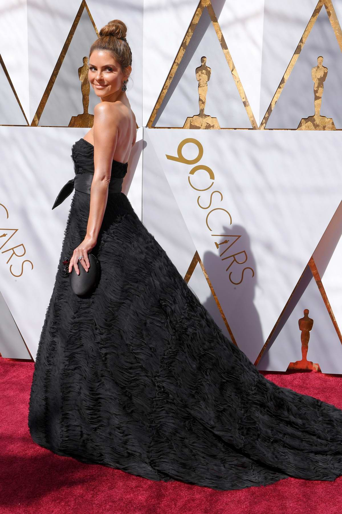 maria menounos attends the 90th annual academy awards ...
