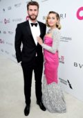 Miley Cyrus at the 26th Annual Elton John AIDS Foundation Academy Awards Viewing Party in Hollywood, Los Angeles