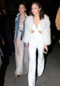 Olivia Culpo and Cara Santana spotted outside a Nine West event in Hollywood, Los Angeles