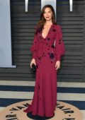 Olivia Munn attends 2018 Vanity Fair Oscar Party at the Wallis Annenberg Center for the Performing Arts in Beverly Hills, Los Angeles