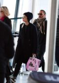 Rooney Mara and Joaquin Phoenix spotted at Heathrow airport in London