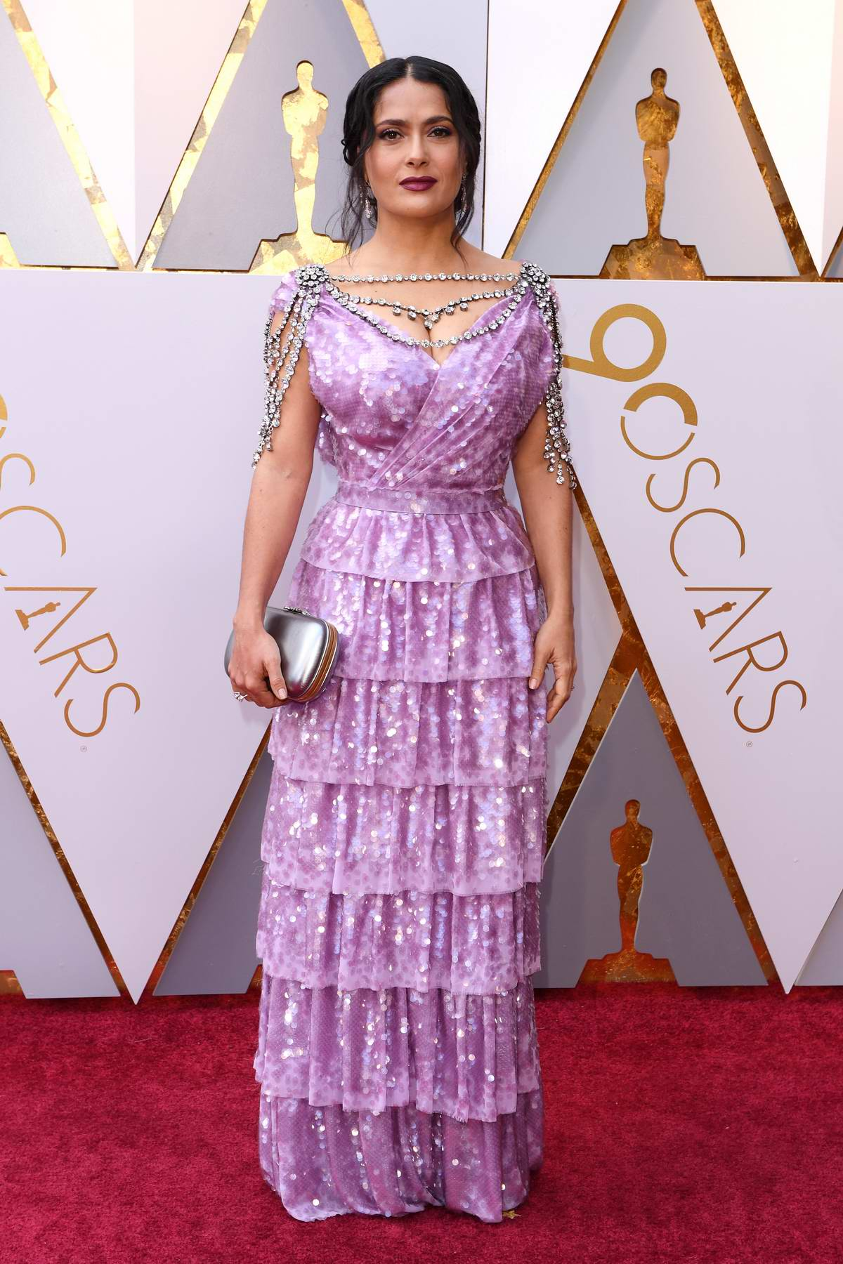 Salma Hayek attends The 90th Annual Academy Awards (Oscars 2018) held at Dolby Theatre in Hollywood, Los Angeles