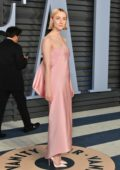 Saoirse Ronan attends 2018 Vanity Fair Oscar Party at the Wallis Annenberg Center for the Performing Arts in Beverly Hills, Los Angeles