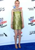 Saoirse Ronan attends the 33rd Film Independent Spirit Awards in Los Angeles