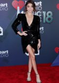 Sarah Hyland attends the 2018 iHeartRadio Music Awards at The Forum in Inglewood, California