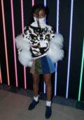 Selah Marley attends the Sonia Rykiel Show, Womenswear Fall/Winter 2018/19 during Paris Fashion Week, France