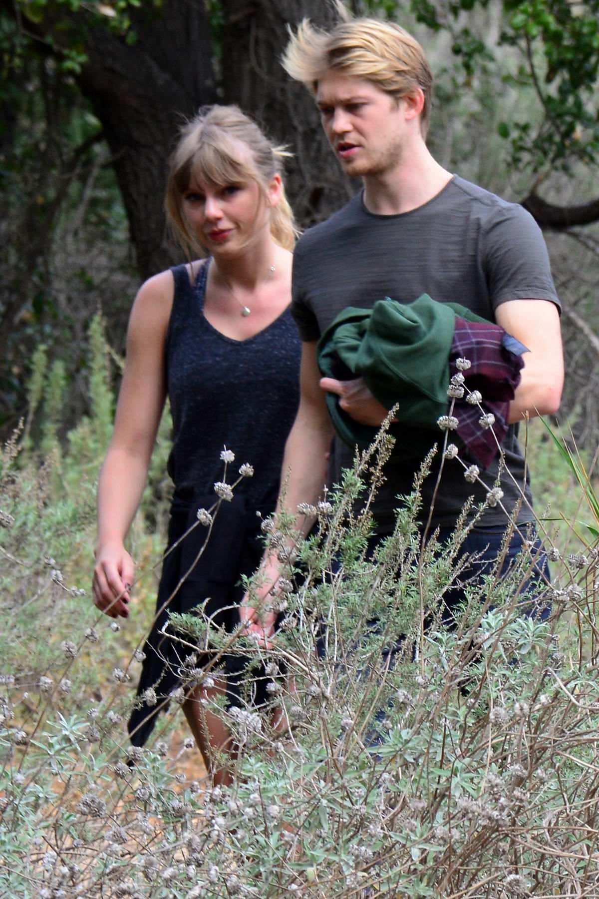 Taylor Swift and Joe Alwyn spotted while enjoying a hike in Malibu, California