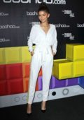 Zendaya Coleman at the BooHoo hosts 'The Zendaya Edit' Block Party in Los Angeles