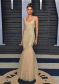 Zendaya Coleman attends 2018 Vanity Fair Oscar Party at the Wallis Annenberg Center for the Performing Arts in Beverly Hills, Los Angeles