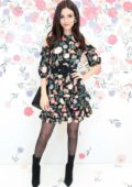 Victoria Justice attends Kate Spade New York 'Bloom Bloom' event in New York City