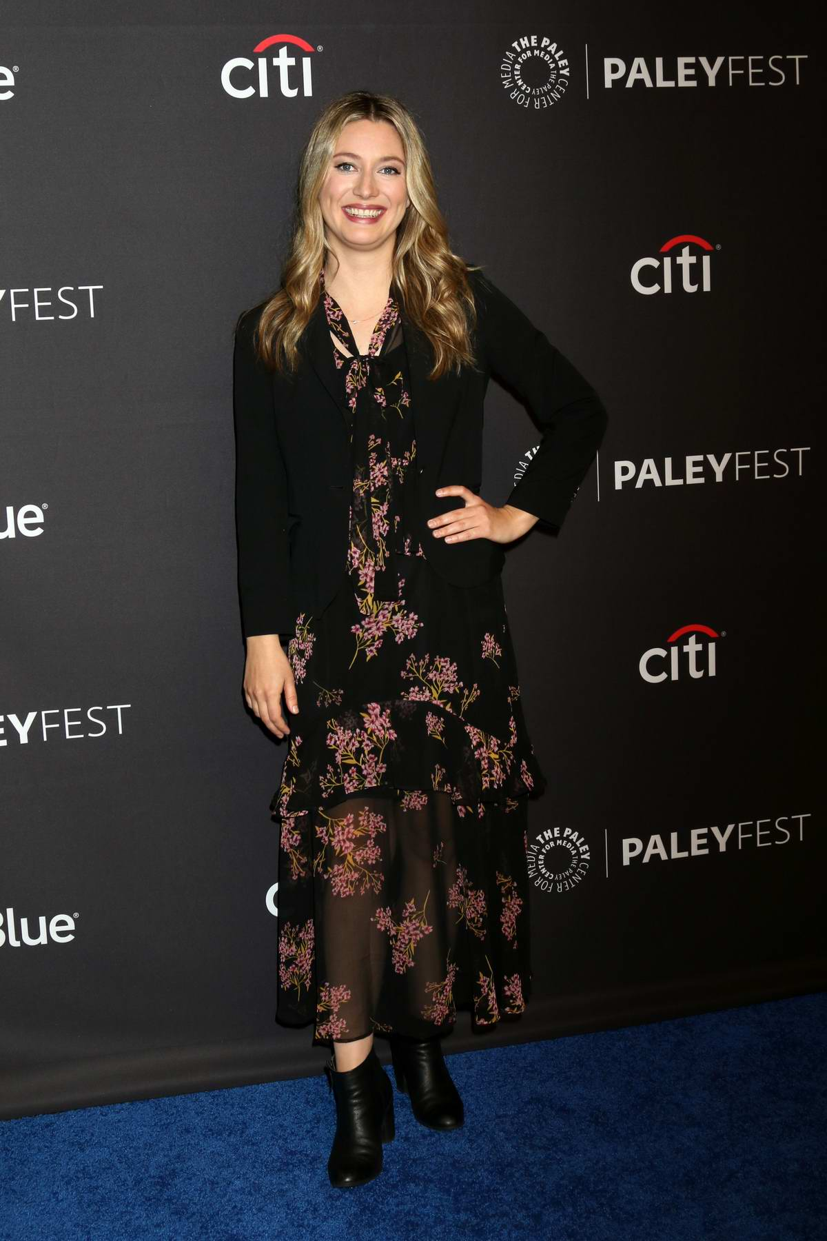 Zoe Perry attends 'The Big Bang Theory' and 'Young Sheldon' TV show presentation at Paleyfest in Los Angeles