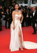Adriana Lima attends 'Burning' premiere during 71st Cannes film festival in Cannes, France