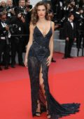 Alessandra Ambrosio attends 'Solo: A Star Wars Story' premiere during the 71st Annual Cannes Film Festival in Cannes, France