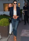Alessandra Ambrosio seen out and about on the Croisette during 71st Cannes Film Festival in Cannes, France