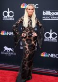 Ashlee Simpson attends the 2018 Billboard Music Awards at MGM Grand Garden in Las Vegas, Nevada