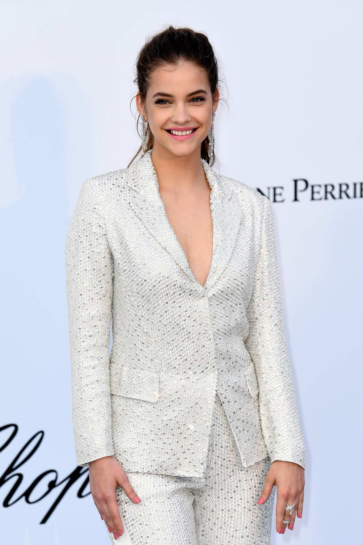Barbara Palvin at the amfAR's 25th Cinema Against AIDS Gala during 71st Cannes Film Festival, France