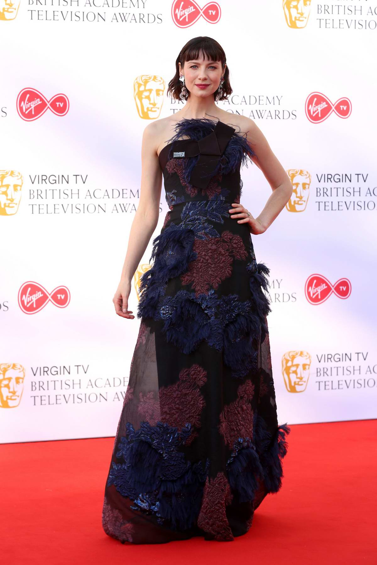 Caitriona Balfe attends British Academy Television Awards (BAFTA 2018) at Royal Festival Hall in London, UK