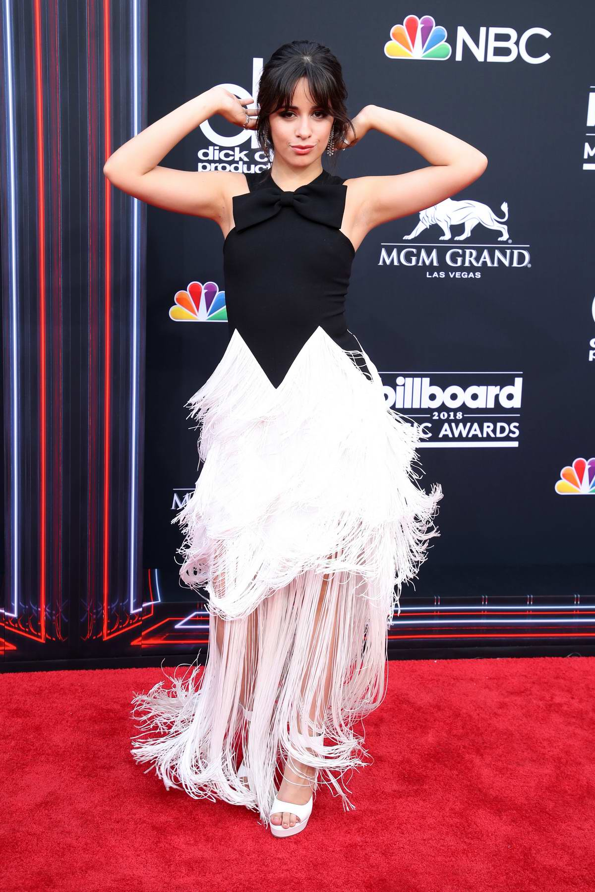 Camila Cabello attends the 2018 Billboard Music Awards at MGM Grand Garden in Las Vegas, Nevada