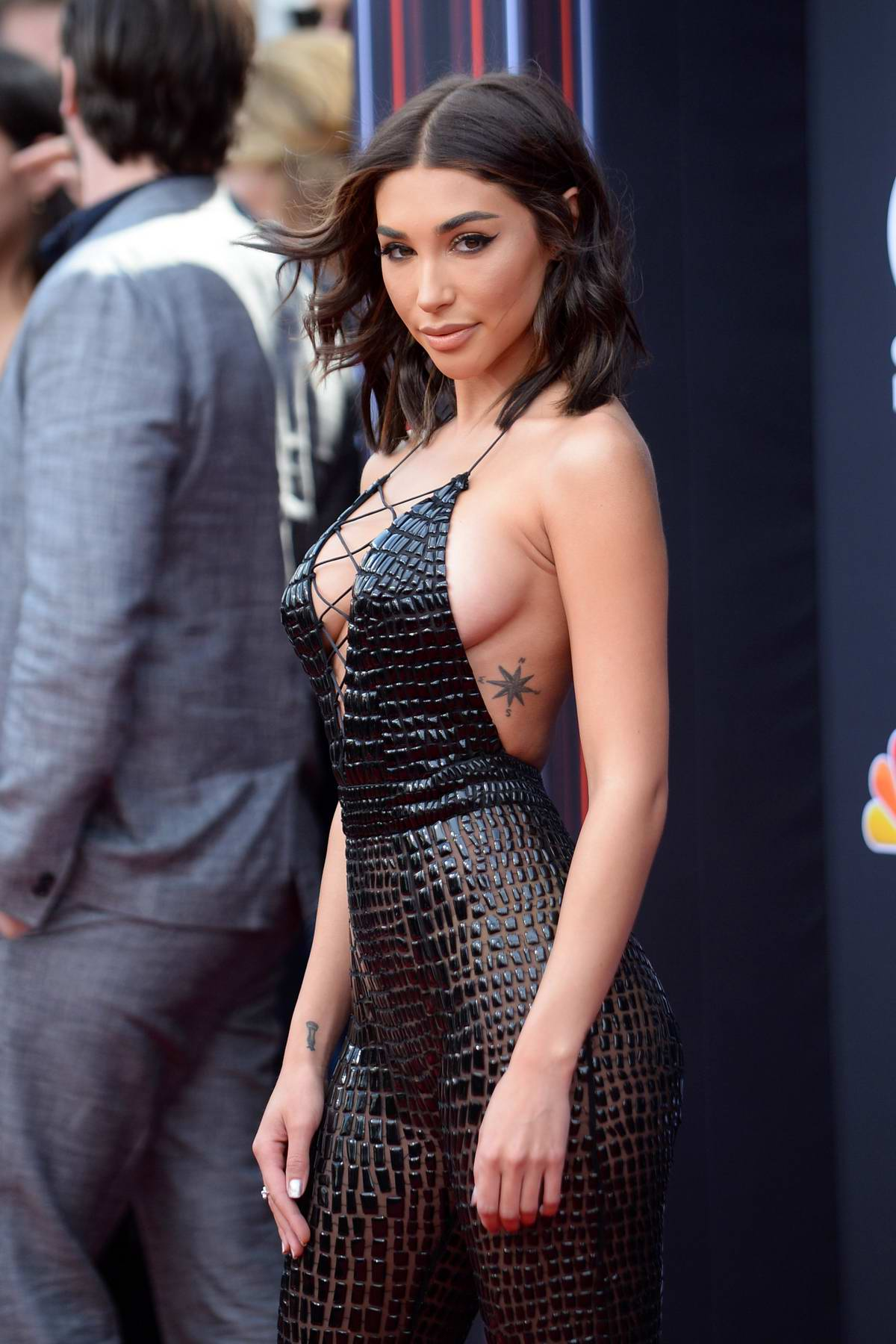 Chantel Jeffries attends the 2018 Billboard Music Awards at MGM Grand Garden in Las Vegas, Nevada