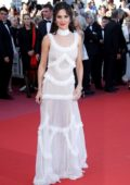 Cheryl Tweedy at the premiere of 'Ash is Purest White' during 71st Cannes Film Festival in Cannes, France