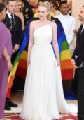 Dakota Fanning attends The Costume Institute Benefit Gala (MET Gala 2018) at Metropolitan Museum of Art in New York City